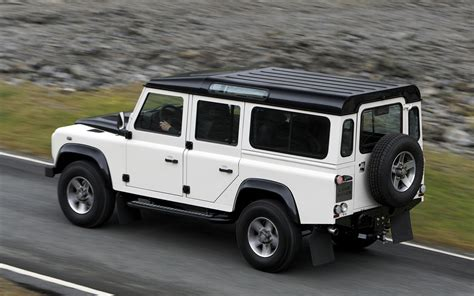 land rover vintage defender land rover defender history of model photo gallery and