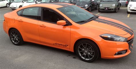 Dart Dodge by Dodge Dart 2013 Orange Image 156