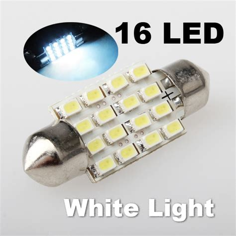 Auto Led Light Bulbs Wholesale Wholesale New Festoon Lantern 1206 16smd 36mm Power Trunk Car Led Light Automotive Lighting