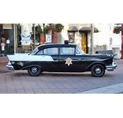 Old Police Car Front View 1955 Chevrolet Carjpg