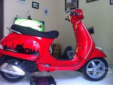 vespa lx merah modifikasi jual motor piaggio lx 150 2013 0 2 di dki jakarta