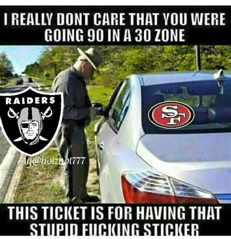 Oakland Raiders Memes - 45 best oakland raiders printables images on pinterest