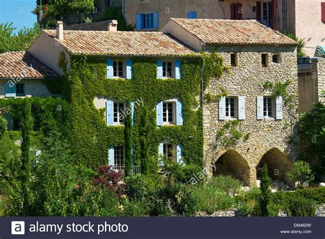 buy house south france france europe provence south of france aurel view town city houses stock photo
