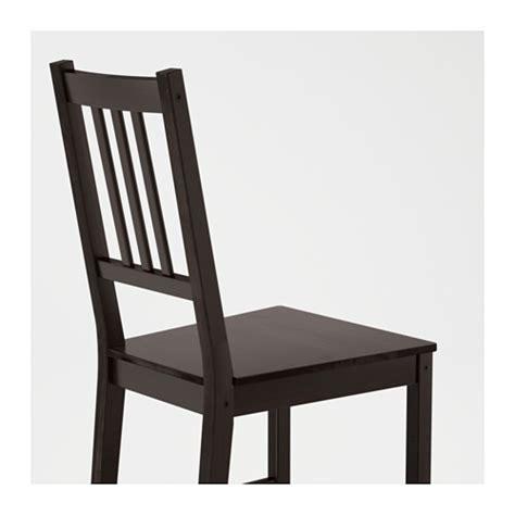 ikea stuhl stefan stefan chair brown black ikea