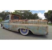 Patina 65 Chevy C10 Rat Rod Surfer Truck  YouTube