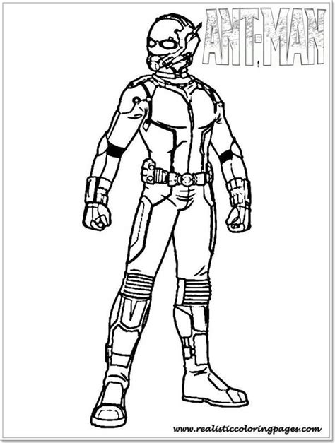 antman coloring pages coloring home