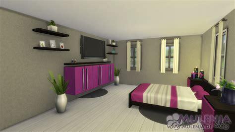die sims 4 einrichtung schlafzimmer in pink mulenja co - Sims 4 Schlafzimmer