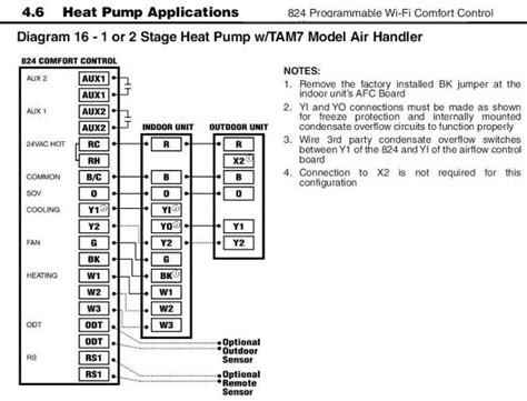 simple comfort 2000 thermostat wiring diagram simple