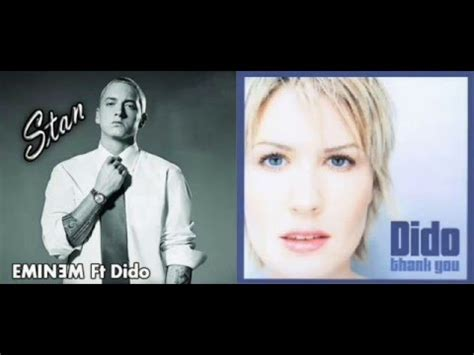 eminem feat dido eminem ft dido vs dido thank you stan mashup youtube