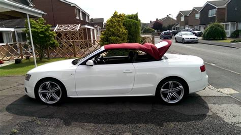 Audi A4 8f by Audi A5 Cabriolet Convertible 8f Roof Opening With Remote