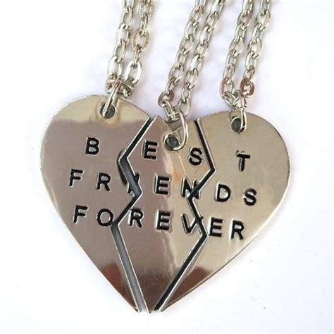 Crazy Cool Mugs jewels friendship necklaces best friend necklaces for 3