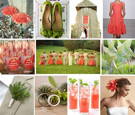 coral wedding colors coral and wedding colors relaxedbride