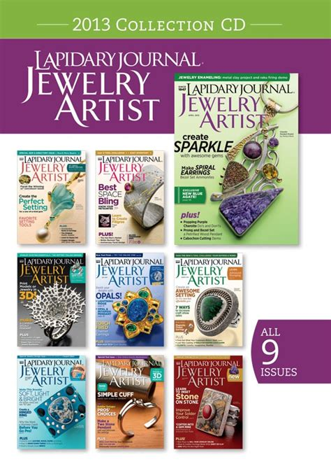 Lapidary Journal Jewelry Artist 2013 Collection