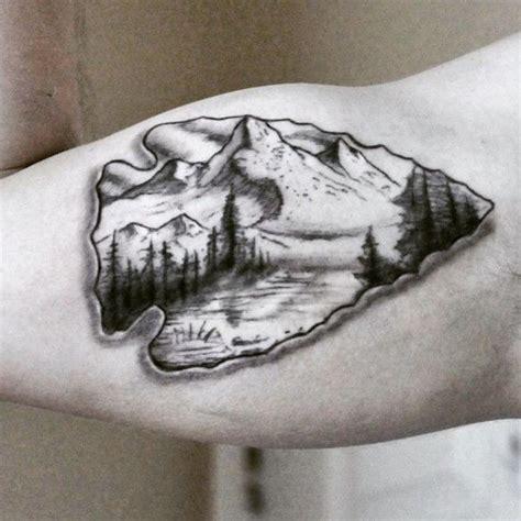 arrow head tattoo 75 epic arrowhead for adventurous