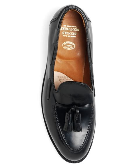cordovan tassel loafers s cordovan leather tassel loafers brothers