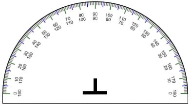 printable protractor small free printable protractor 180 176 360 176 pdf with ruler