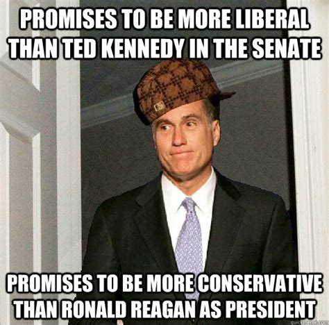 Reagan Meme - promises to be more liberal than ted kennedy in the senate