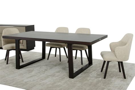 modern oak dining tables a x caligari modern oak dining table