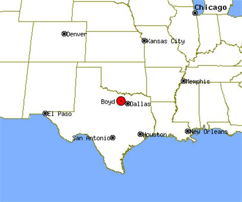 map of boyd texas boyd profile boyd tx population crime map