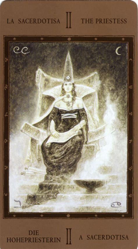 the labyrinth tarot 1000 images about tarot art the high priestess on decks le tarot and mobiles