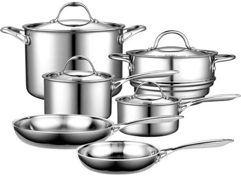 best pans to cook with the undisputable king of stainless steel cookware is an