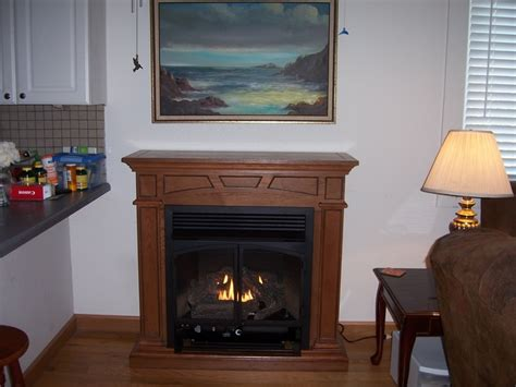 vent free gas fireplace cabinets montclaire vent free gas fireplace mantel package