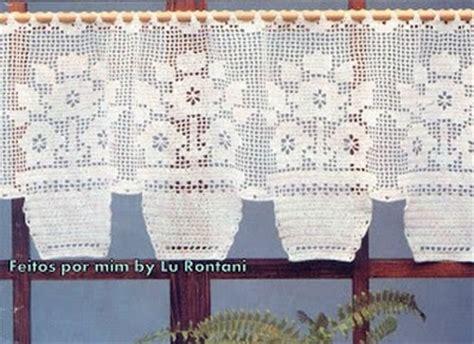 cenefas en crochet cenefas a crochet patrones gratis manualidades y