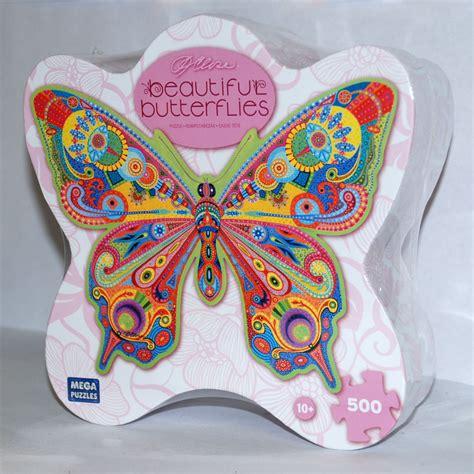 Jigsaw Puzzle Perre Butterfly World Map 1000 Pieces beautiful butterflies ornate garden butterfly jigsaw