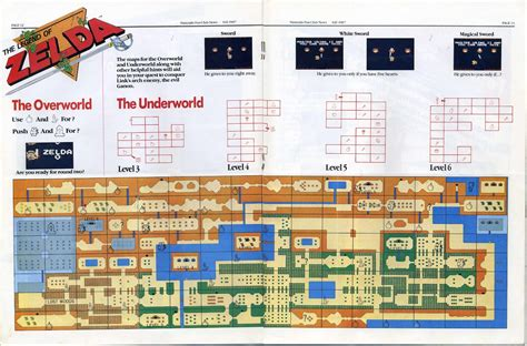 legend of zelda nes map hardcore gaming 101 blog magazine reviews nintendo