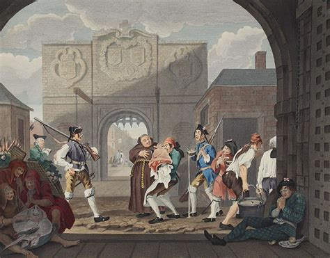 the gate of calais or the roast beef of old england william hogarth the gate of calais or o the roast beef drawing by william