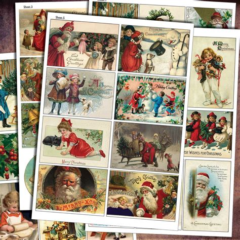 Decoupage Sheets Uk - traditional vintage decoupage craft scrapbooking