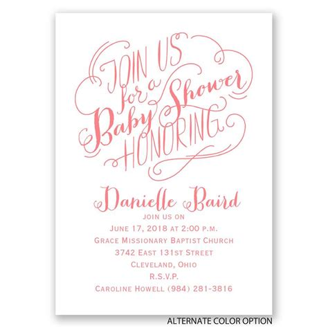 mini baby shower join us mini baby shower invitation invitations by