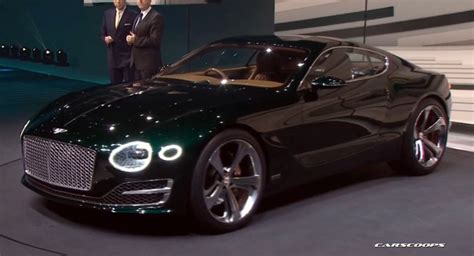 Bentley's New EXP 10 Speed 6 Sports Coupe Concept Hints At