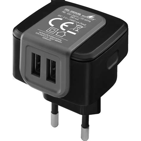 Usb Charger Only Europe Socket Model A1265 usb power supply with 2pin european 2 4a connevans
