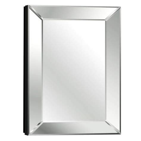 beveled mirror medicine cabinet pace 18 quot mitered beveled mirror medicine cabinet 18 quot w x