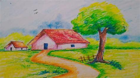 easy oil pastel drawing  getdrawingscom