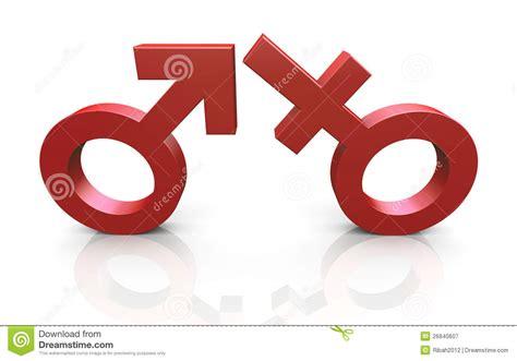 imagenes simbolos hombre y mujer s 237 mbolos del hombre 3d y de la mujer fotograf 237 a de archivo