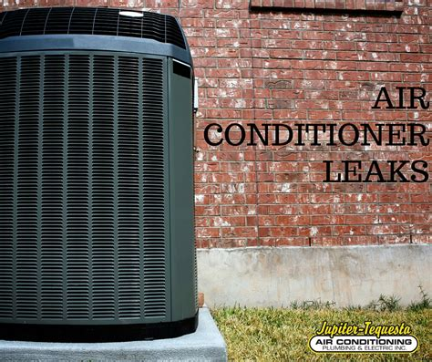 Air Conditioner Leaking Water In House by Why Air Conditioner Leaks Water Ac Repair Jupiter Fl