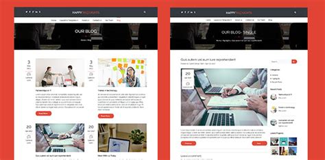 blog layout options happy thoughts wordpress business theme professional