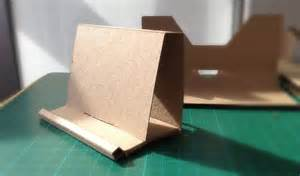 cardboard business card holder runaway prototype design cardboard business card holder