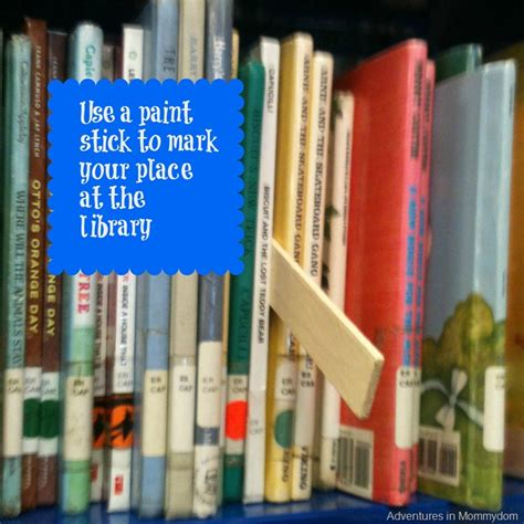 Shelf Markers For Library by Make A Shelf Marker For The Library