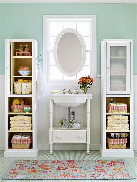 Storage Ideas For Small Bathrooms Creative Small Bathroom Storage Ideas Diy Home Decor