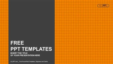 Orange Checkers Background Powerpoint Templates Orange Powerpoint Templates