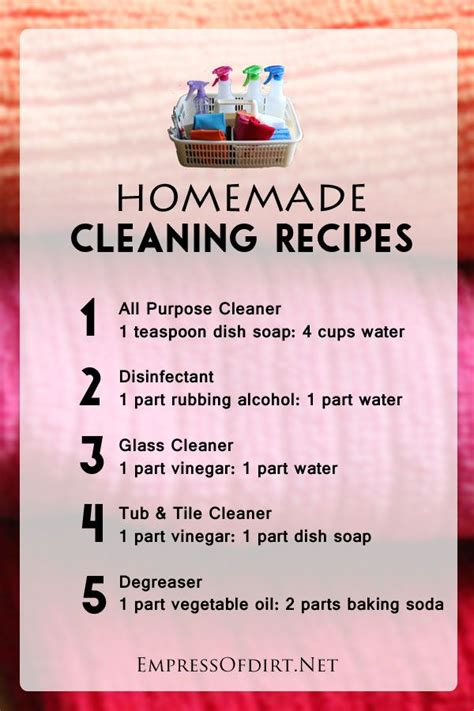 7 Tips To Keep Your House Sparkling Clean by Best 25 Cleaning Recipes Ideas Only On