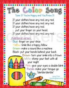 songs with colors in them 17 best ideas about learning colors on