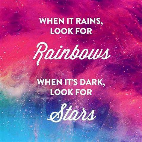 tatto when it rains look for rainbows when it s dark 1000 ideias sobre spr 252 che englisch no pinterest tattoo