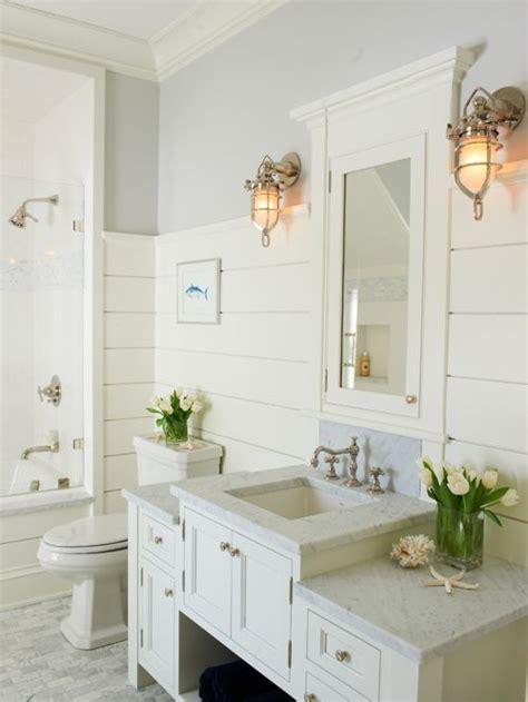Shiplap In Small Bathroom Best White Ship Siding Bathroom Design Ideas Remodel