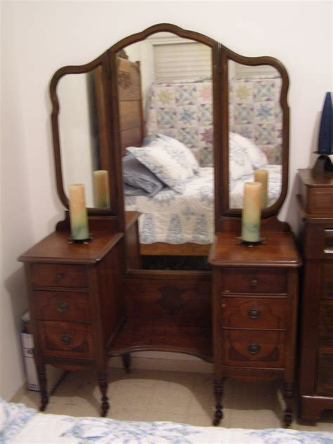 bedroom gorgeous dresser mirrors antique design for