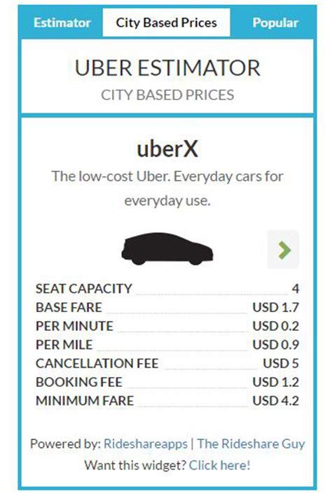 fare estimate uber uber fare estimator best free uber pricing tool