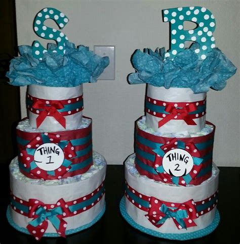 Thing1 And Thing 2 Baby Shower Theme by Thing 1 And Thing 2 Baby Shower Ideas Babywiseguides